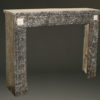 Louis XVI French Gray Marble Fire Surround A4152A