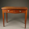 Antique English Chippendale games table