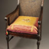 Antique Adams style arm chair