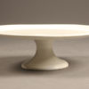 Antique porcelain cake stand