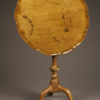 Antique English candle stand/table.