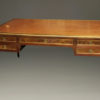 Antique Louis XVI style partner's desk