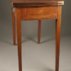 Antique English Chippendale games table.