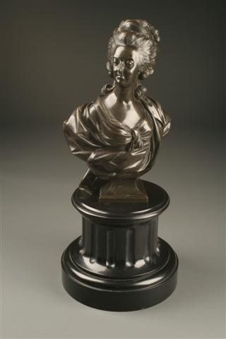 French bronze of Marie Antoinette