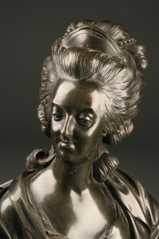 French bronze of Marie Antoinette