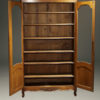 Pair of oak bookcases A5413C