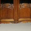 Pair of oak bookcases A5413F