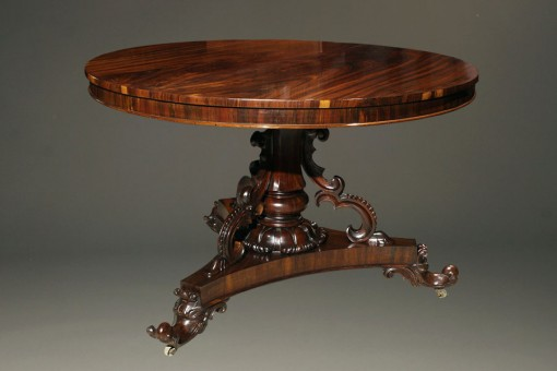A5427A Antique Rococco style entry hall table.