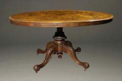 19th Century English Tilt Top Antique TableA5428A
