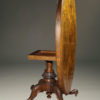 A5428B-antique-tilt top-breakfast-table-walnut