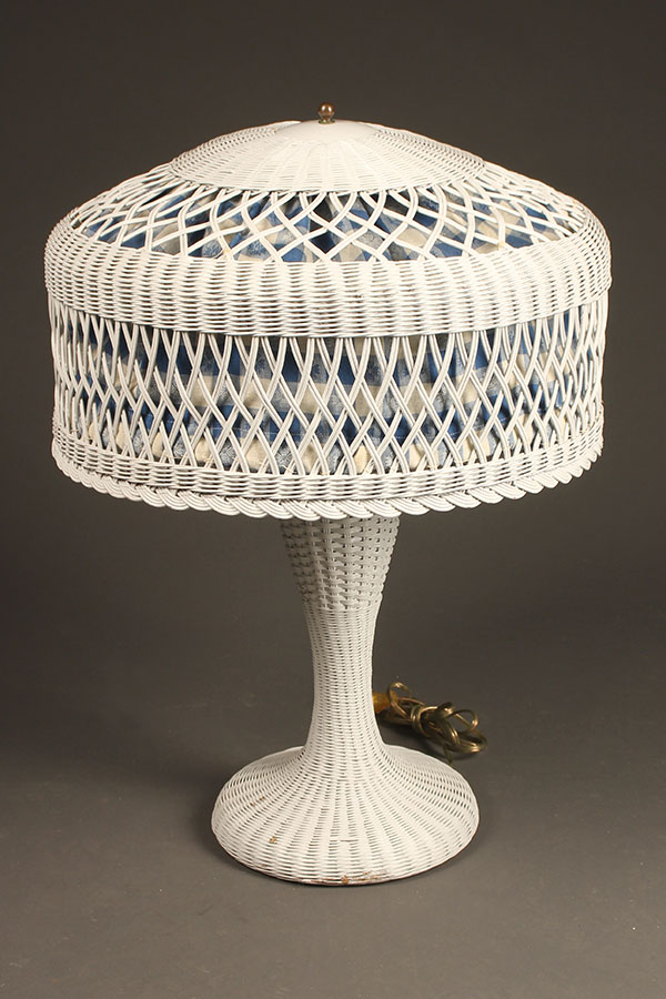 Wicker table lamp A5430A