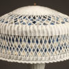 Wicker table lamp A5430B
