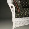 Petite wicker sofa A5435D