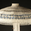 Wicker floor lamp A5436B