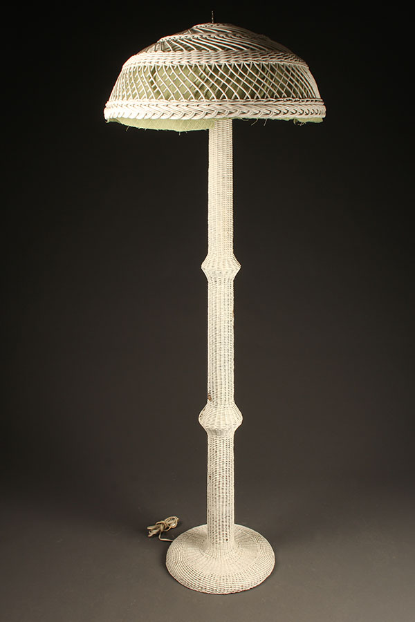 Wicker floor lamp A5437A