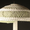 Wicker floor lamp A5437B