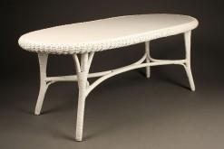 Oval wicker coffee table A5440A