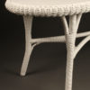 Oval wicker coffee table A5440B