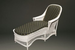 Wicker chaise lounge A5441A