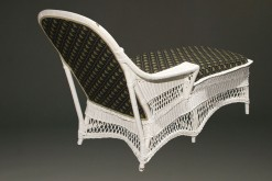 Wicker chaise lounge A5441B