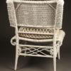 Wicker side chair A5444C