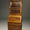 A5446A-english-secretary-bookcase-walnut