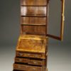 A5446B-english-secretary-bookcase-walnut