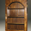 A5446E-english-secretary-bookcase-walnut