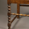 Pair of antique Jacobean arm chairs A5453G