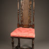 Pair of Baroque style chairs A5455B
