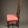 Pair of Baroque style chairs A5455C
