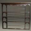 English oak plate rack A5462A