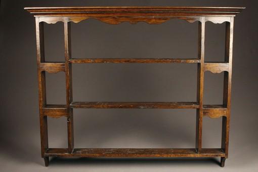 English oak plate rack A5463A