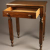 A5465E-table-antique-walnut-drawer