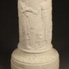 Pair of Parian pedestals A5468C