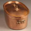 Oval Copper Pot A5477B