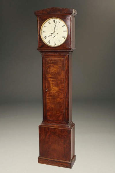 English Mahogany Tall Case Clock A5481A