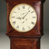 English Mahogany Tall Case Clock A5481C