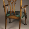 Set of 8 Chippendale style chairs A5484D