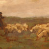 Landscape with sheep A5492C