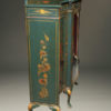 Antique Cabinet with Green Chinoiserie Finish A5496C