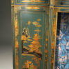 Antique Cabinet with Green Chinoiserie Finish A5496D