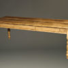 English pine table with three drawers A5505A