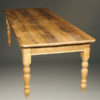 English pine table with three drawers A5505B