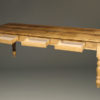 English pine table with three drawers A5505C