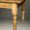 English pine table with three drawers A5505D