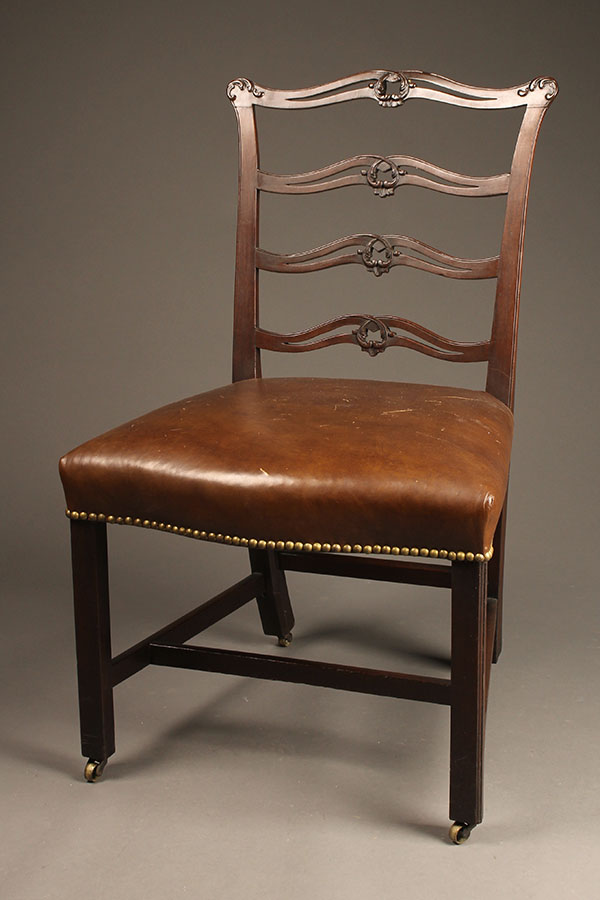 Ladder back side chair A5512A