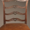 Ladder back side chair A5512D