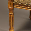 Pair of Louis XVI style arm chairs A5521G