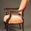 Pair of rosewood chairs A5525C
